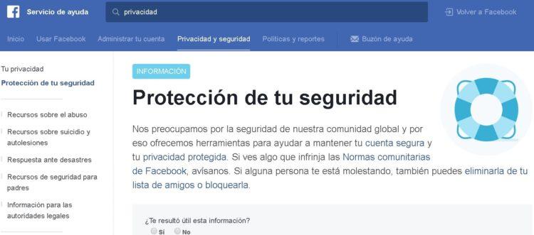 Privacidad en Facebook - Tips para tu cuenta 02