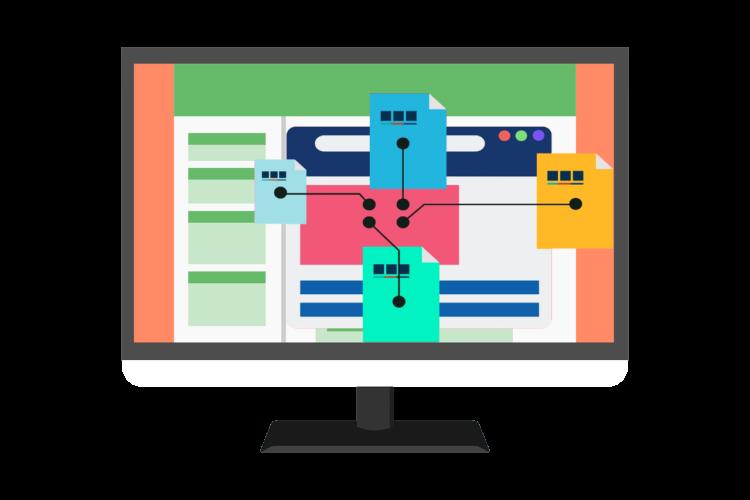 Estructura de navegación - GrupoDigital360