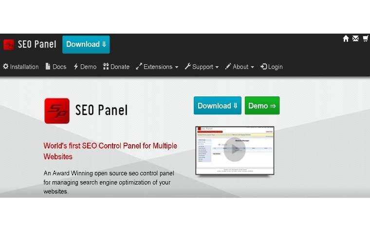 SEOPanel – Herramienta para gestionar proyectos SEO 01