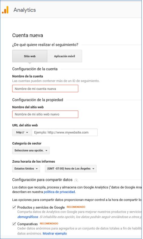 Google Analytics - GrupoDigital360 -Registro