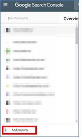 Google Search Consola - GrupoDigital360 - agregar propiedad