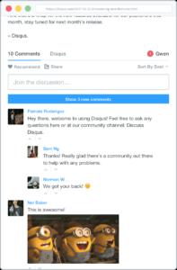 Disqus - Administrar comentarios - GrupoDigital360